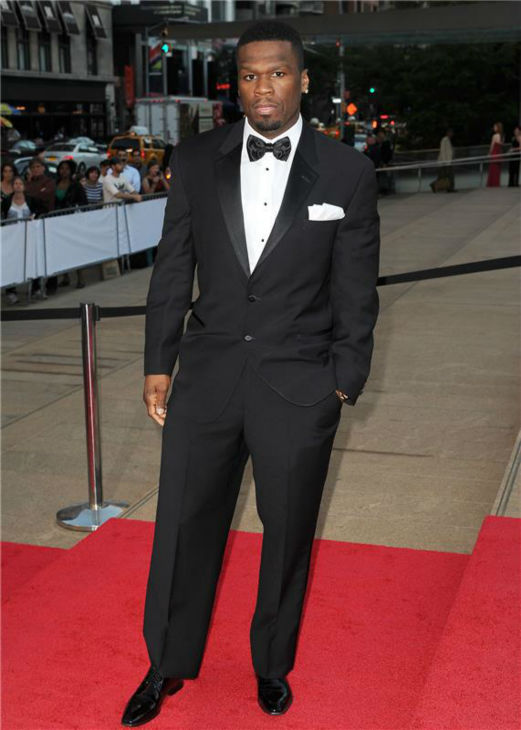 Hip hop artist 50 Cent attends the New York City Ballet 2013 Fall Gala at the David H. Koch Theater at Lincoln Center in New York on Sept. 19, 2013.