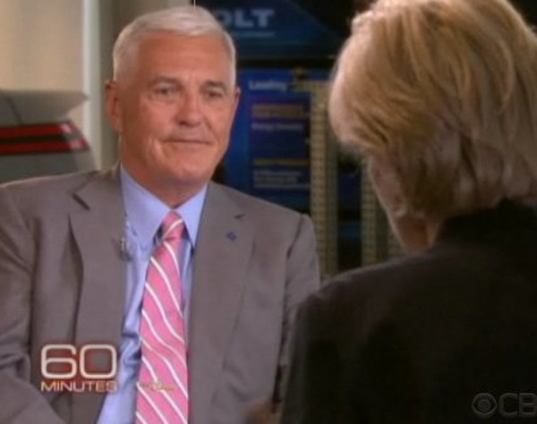 Still image from the show '60 Minutes.'