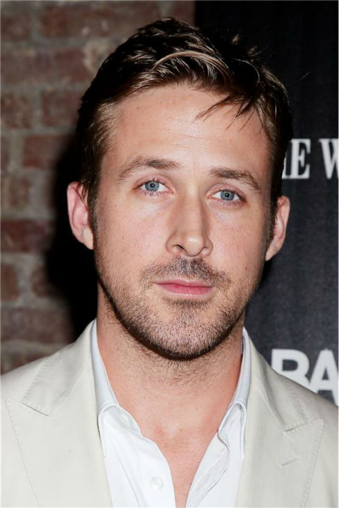 The &#39;Just-Enough-Buttons-Unbuttoned&#39; stare: Ryan Gosling appears at the premiere of &#39;Only God Forgives&#39; in New York on July 16, 2013. <span class=meta>(Dave Allocca &#47; Startraksphoto.com)</span>