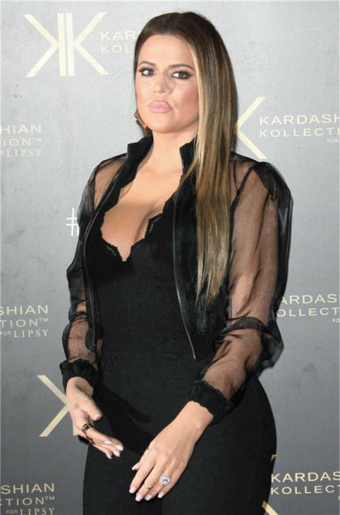 Khloe Kardashian appears at a launch party for the Kardashian Kollection For Lipsy at the National History Museum in London on Nov. 14, 2013. <span class=meta>(ABACA &#47; Startraksphoto.com)</span>