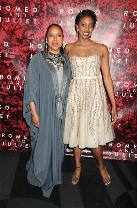 &#39;Cosby Show&#39; alum Phylicia Rashad and daughter Condola Rashad attend the opening night party for the play &#39;Romeo and Juliet&#39; on Sept. 19, 2013. Condola stars with Orlando Bloom, who is making his Broadway debut. <span class=meta>(Adam Nemser &#47; Startraksphoto.com)</span>