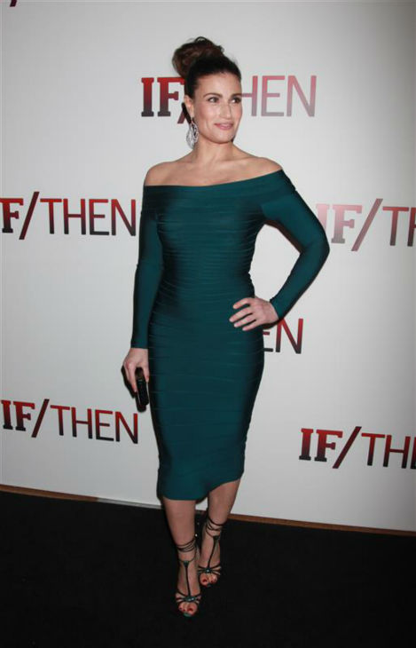 "<div class=""meta ""><span class=""caption-text "">Idina Menzel attends the opening night of the new Broadway musical 'If/Then' at the Richard Rodgers Theatre in New York on March 30, 2014. The actress is one of the cast members. She is also known for her roles in the Broadway shows 'Rent' (as Maureen) and 'Wicked' (as Elphaba) and portrayed Elsa in the Disney movie 'Frozen,' in which she sang the hit song 'Let It Go.' (Adam Nemser / Startraksphoto.com)</span></div>"