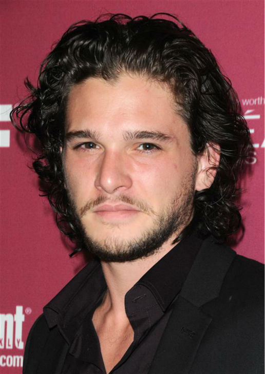 The &#39;Jon-Snow-Knows-Nothing-At-The-2011-Entertainment-Weekly-and-Women-In-Film-Pre-Emmy-Awards-Party&#39; stare. &#40;Kit Harington appears at the the event in West Hollywood, California on Sept. 17, 2011.&#41; <span class=meta>(Sara De Boer &#47; Startraksphoto.com)</span>
