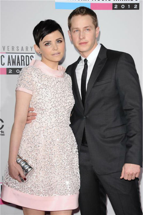 &#39;Once Upon A Time&#39; stars Ginnifer Goodwin and boyfriend Josh Dallas attend the 2012 American Music Awards at the Nokia Theatre L.A. Live in Los Angeles on Nov. 18, 2012. <span class=meta>(Kyle Rover &#47; Startraksphoto.com)</span>