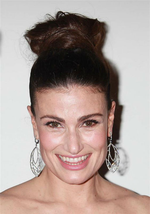 Idina Menzel attends the opening night of the new Broadway musical &#39;If&#47;Then&#39; at the Richard Rodgers Theatre in New York on March 30, 2014. The actress is one of the cast members. She is also known for her roles in the Broadway shows &#39;Rent&#39; &#40;as Maureen&#41; and &#39;Wicked&#39; &#40;as Elphaba&#41; and portrayed Elsa in the Disney movie &#39;Frozen,&#39; in which she sang the hit song &#39;Let It Go.&#39; <span class=meta>(Adam Nemser &#47; Startraksphoto.com)</span>