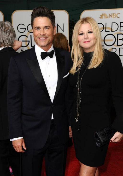 The time Rob Lowe was incredibly good-looking while attending the 2014 Golden Globe Awards at the Beverly Hilton hotel in Beverly Hills, California on Jan. 12, 2014 with wife Sheryl Berkoff. <span class=meta>(Sara De Boer &#47; Startraksphoto.com)</span>