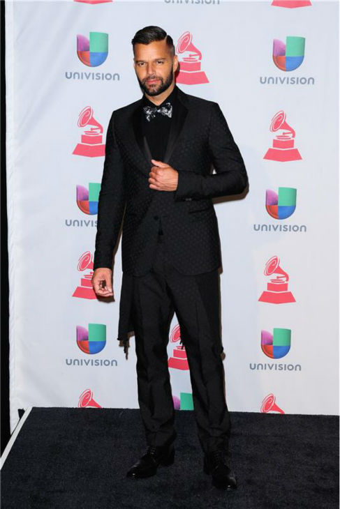 Ricky Martin arrives at the 2013 Latin Grammy Awards at the Mandalay Bay Hotel and Casino in Las Vegas on Nov. 21, 2013.to.com <span class=meta>(Dave Proctor &#47; Startraksphoto.com)</span>