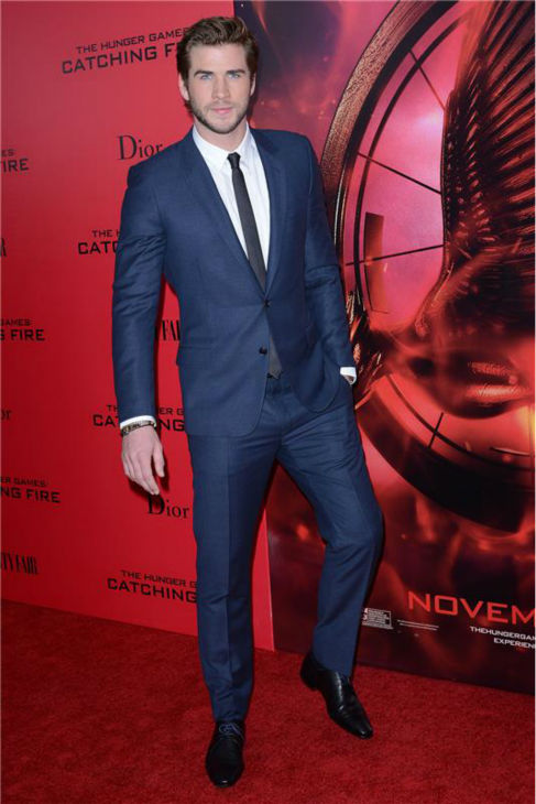 &#39;The Hunger Games: Catching Fire&#39; actor Liam Hemsworth &#40;Gale Hawthorne&#41; attends the premiere of the movie in New York on Nov. 20, 2013. <span class=meta>(Humberto Carreno &#47; Startraksphoto.com)</span>