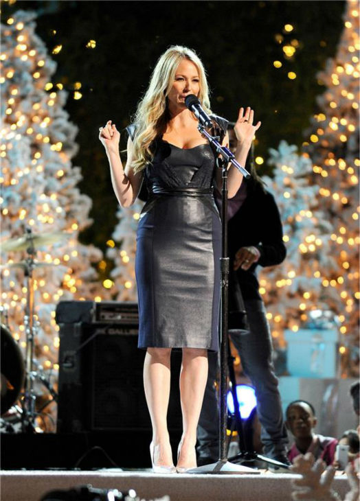 Jewel performs at the 11th annual Christmas Tree Lighting Spectacular event at The Grove shopping mall in Los Angeles on Nov. 17, 2013. <span class=meta>(Daniel Robertson &#47; Startraksphoto.com)</span>