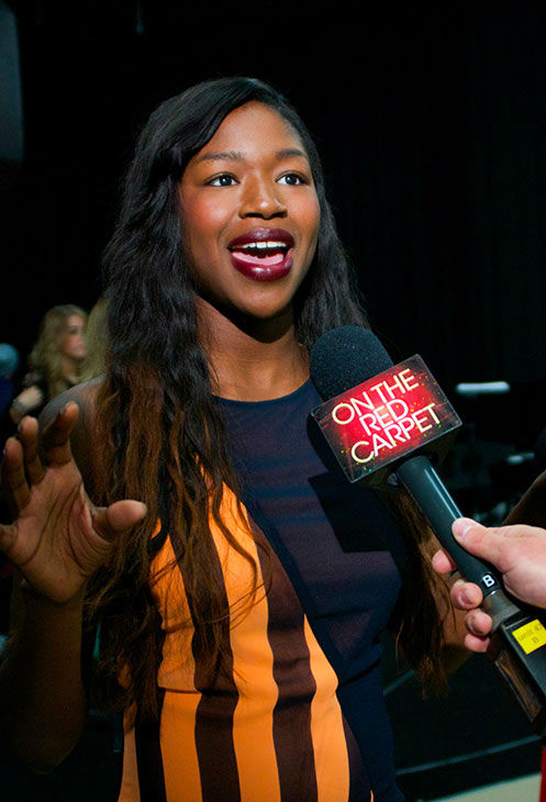 "<div class=""meta ""><span class=""caption-text "">Amber Holcomb talks to OTRC.com at a rehearsal for the 'American Idol LIVE!' 2013 summer tour in Burbank, California on July 9, 2013. She is one of 11 singers who competed during the recent 12th season, coming in 4th place, and will perform at 30 concerts across the United States and Canada, from July 19 to Aug. 31. (Aaron Frank / OTRC)</span></div>"