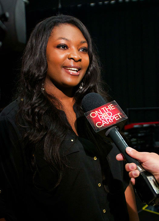Candice Glover talks to OTRC.com at a rehearsal for the 'American Idol LIVE!' 2013 summer tour in Bur