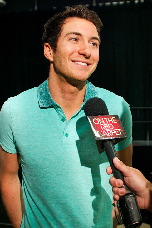 Paul Jolley appears at a rehearsal for the 'American Idol LIVE!' 2013 summer tour in Burbank, California on July 9, 2013.