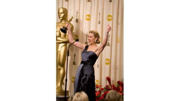 Best Leading Actress at 2009 Oscars: Kate Winslet for 'The Reader'