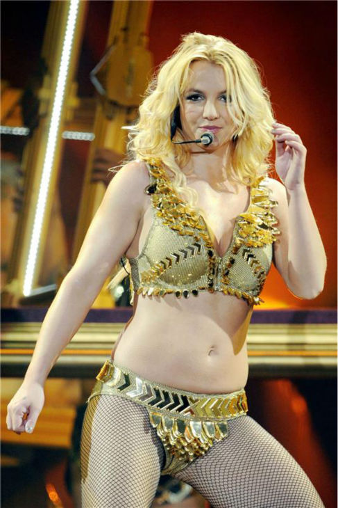 Britney Spears performs a concert in Metz, France as part of her Femme Fatale tour on Oct. 5, 2011.