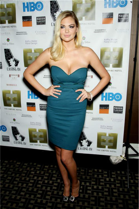 Kate Upton attends an after party following the screening of HBO&#39;s &#39;Casting By&#39; at the Empire Hotel, during the 50th annual New York Film Festival, on Oct. 12, 2012. <span class=meta>(Marion Curtis &#47; Startraksphoto.com)</span>