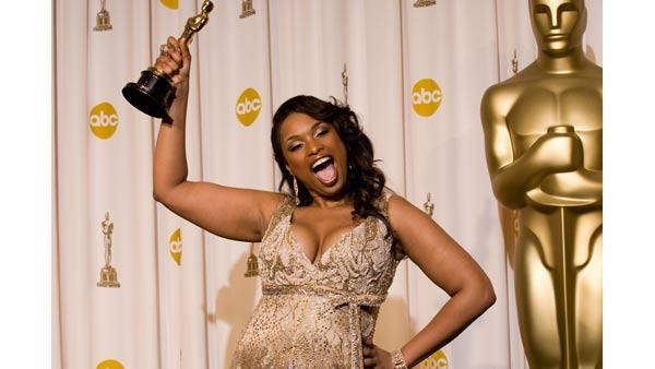 Academy Award winner for Performance by an Actress in a Supporting Role Jennifer Hudson at the 79th Annual Academy Awards at the Kodak Theatre in Hollywood, CA, on Sunday, February 25, 2007.