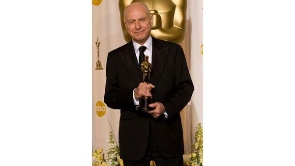 Best Actor in a Supporting Role winner Alan Arkin, during the 79th Annual Academ