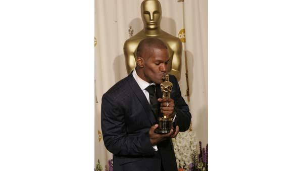 Best Actor Academy Award winner of 2005, Jamie Foxx for 'Ray'