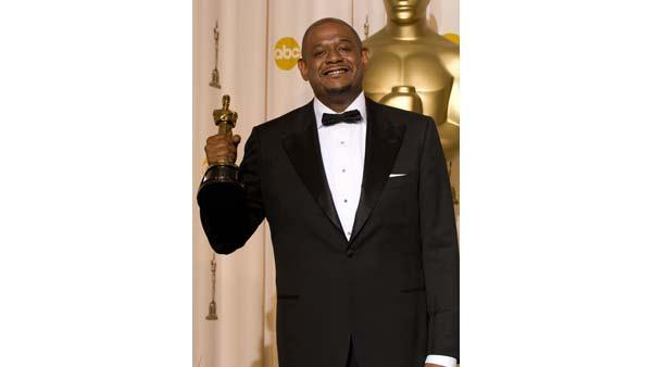 'Best Leading Actor' winner Forest Whitaker, during the 79th Annual Academy Awards at the Kodak Theatre in Hollywood, CA, on Sunday, February 25, 2007.