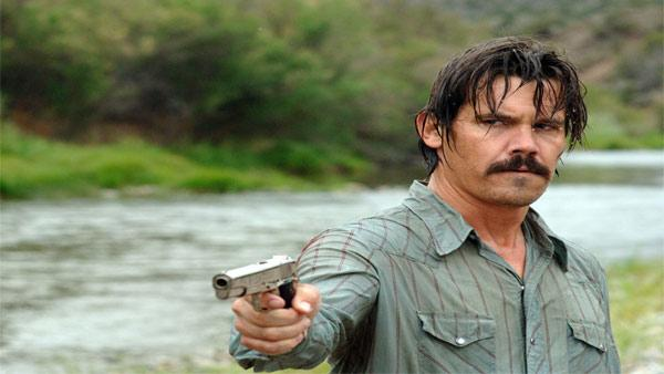 This photo released by Miramax shows actor Josh Brolin in a scene from