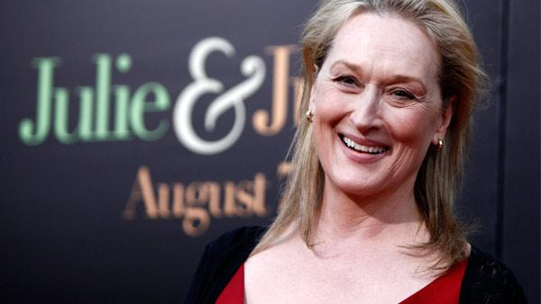 Cast member Meryl Streep arrives at the premiere of