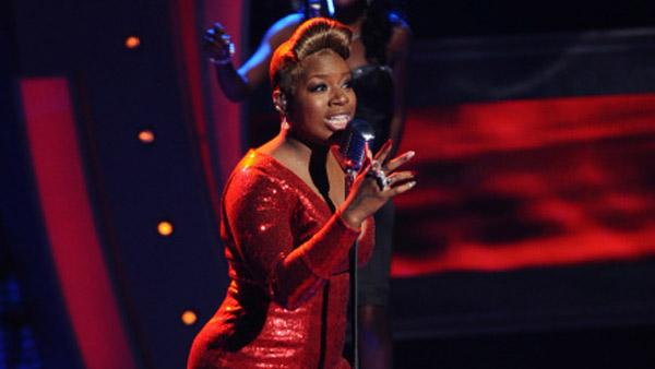 Fantasia performs on 'American Idol' airing Thursday, March 31, 2011.