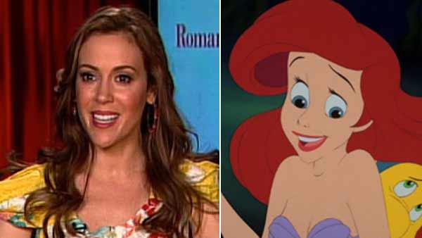 Alyssa Milano was original 'Little Mermaid'
