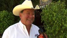 Actor William Shatner says he would play hard to get if asked to do Star Trek sequel. - Provided courtesy of KABC