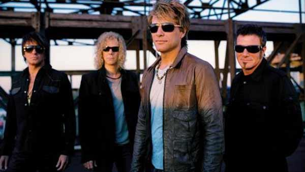 Bon Jovi is the first to perform at NJs New Meadowlands Stadium, where the 2014 Super Bowl is set to take place. - Provided courtesy of Photo courtesy of Bon Jovis MySpace page