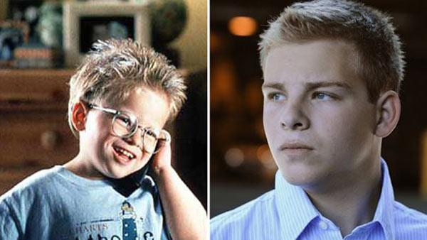 Jonathan Lipnicki appears in a scene from the 1996 film 'Jerry Maguire.' / Jonathan Lipnicki appears in a promotional photo for the 2011 movie 'For The Love of Money.'