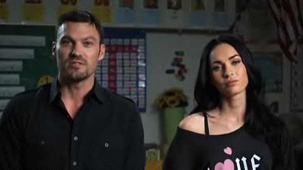 Megan Fox, Brian Austin Green appear in a FunnyOrDie segment in 2010. - Provided courtesy of Photo courtesy of FunnyOrDie.com