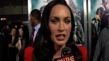 Megan Fox talks to OnTheRedCarpet.com at the Los Angeles premiere of Jonah Hex on June 17, 2010. - Provided courtesy of OTRC