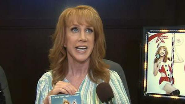 Life on the D-List star Kathy Griffin sign copies of her books at The Grove in Los Angeles in July 2010. - Provided courtesy of KABC