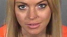 This booking photo shows actress Lindsay Lohan after her arrest on Tuesday, July 20, 2010. - Provided courtesy of KABC