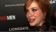 Christina Hendricks talks to OnTheRedCarpet.com in July 2010. - Provided courtesy of OTRC
