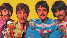 The Beatles are pictured in the notes for the album Sgt Peppers Lonely Hearts Club Band album. - Provided courtesy of Photo courtesy of Capitol Records