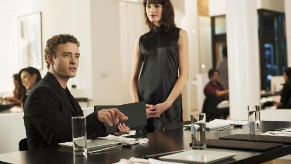 Justin Timberlake appears in a scene from the 2010 movie The Social Network. - Provided courtesy of Columbia Pictures