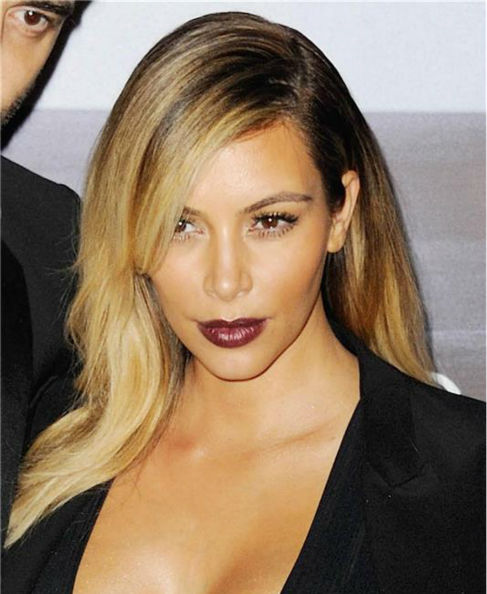 Kim Kardashian appears at the premiere of 'Mademoiselle C' in Paris on Oct. 1, 2013.
