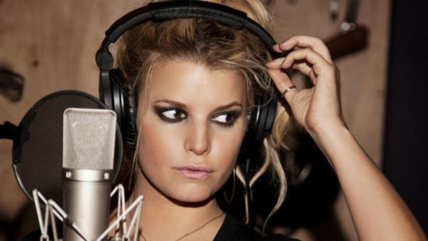 Jessica Simpson appears in a 2010 photo posted on her Twitter page.