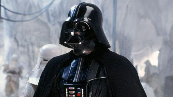 Darth Vader appears in the film The Empire Strikes Back. - Provided courtesy of Lucasfilm
