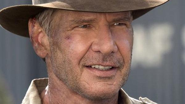 Ford in a scene from Indiana Jones and the Kingdom of the Crystal Skull. - Provided courtesy of Lucasfilm / Paramount Pictures