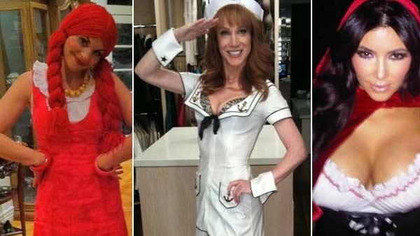 Happy Halloween! Check out what costumes celebrities such as Kim Kardashian and Kathy Griffin wore in 2010.