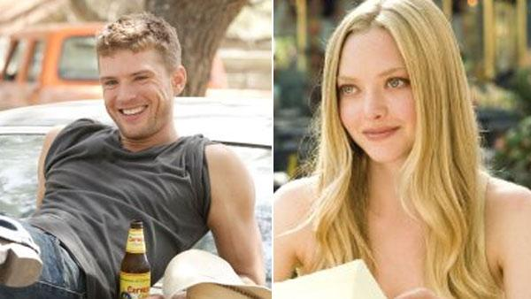 Ryan Phillippe in a scene from Stop-Loss. / Amanda Seyfried in a scene from Letters to Juliet. - Provided courtesy of Paramount Pictures / Summit Entertainment