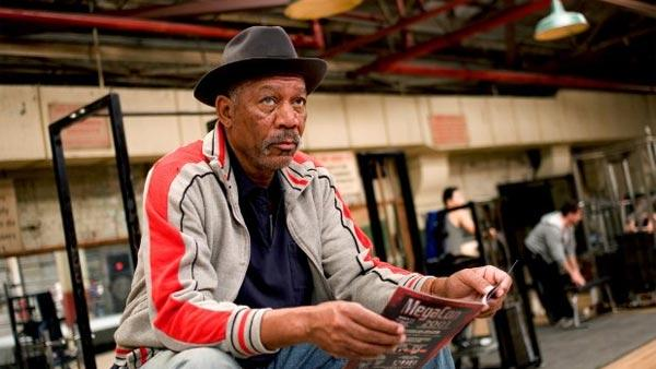 Morgan Freeman appears in a scene from Million Dollar Baby. - Provided courtesy of Warner Bros. Entertainment