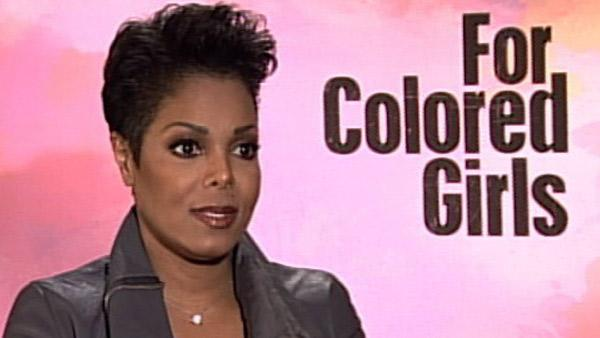 Tyler Perrys For Colored Girls eligible for 2011 Oscar consideration, but Janet Jackson avoids thinking about it. - Provided courtesy of KABC