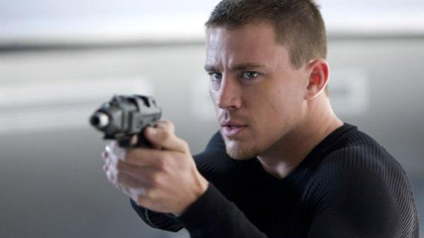 Channing Tatum appears in a scene from G.I. Joe: The Rise of Cobra film. - Provided courtesy of Paramount Pictures