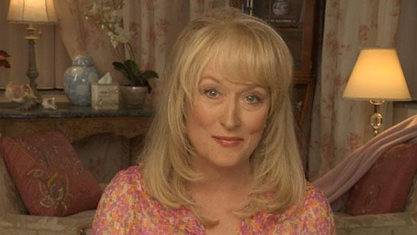 Meryl Streep appears in Lisa Kudrows Web Therapy series. - Provided courtesy of LStudio.com