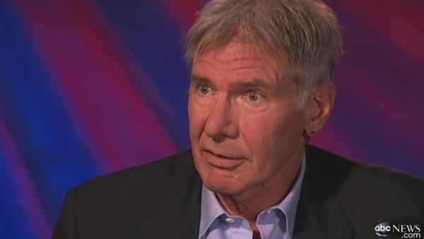 Harrison Ford speaks to ABC News in November 2010 to promote his new film, Morning Glory. - Provided courtesy of ABCNews