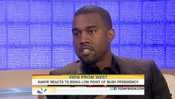 Kanye West appears on The Today Show on Nov. 11, 2010. - Provided courtesy of NBC