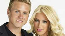 Heidi Montag and Spencer Pratt appear in a promotional photo for The Hills. - Provided courtesy of MTV